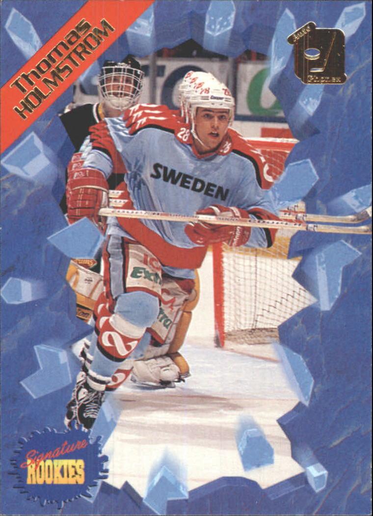 1995 Signature Rookies Auto-Phonex #19 Thomas Holmstrom