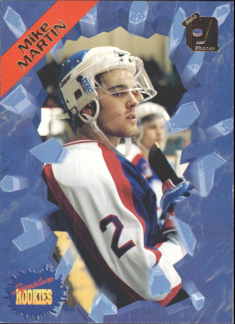 1995 Signature Rookies Auto-Phonex #28 Mike Martin