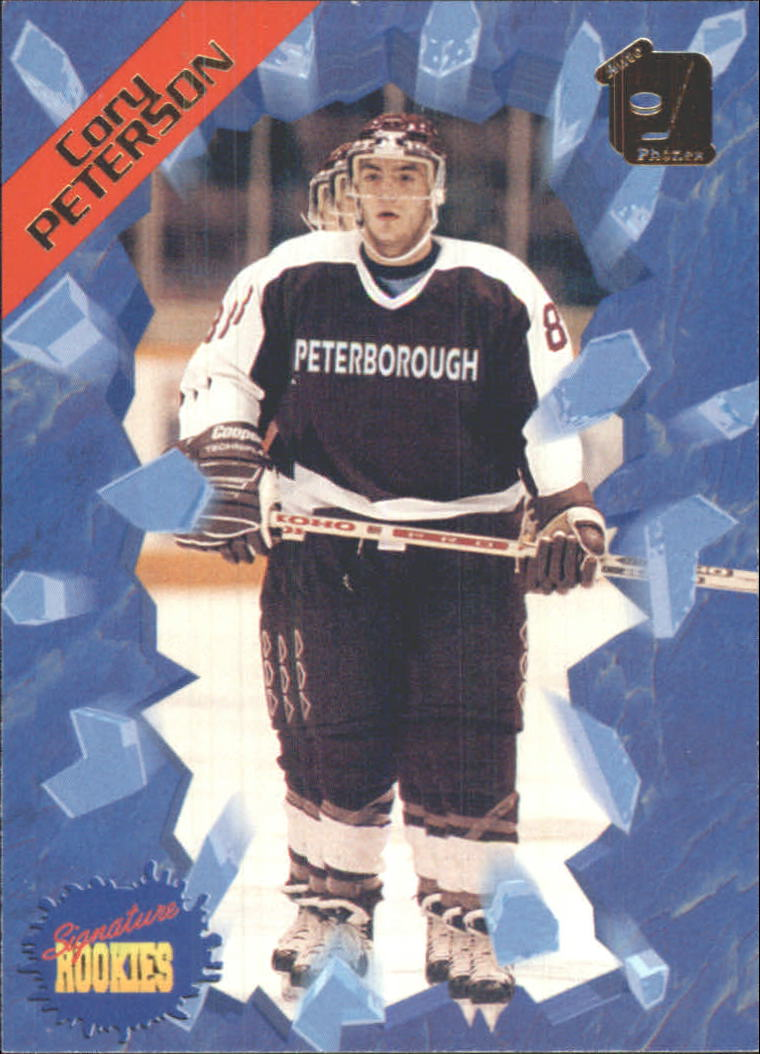 1995 Signature Rookies Auto-Phonex #32 Cory Peterson