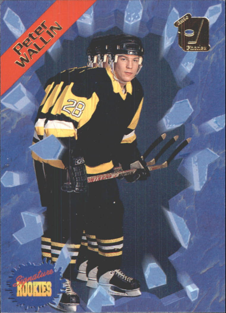 1995 Signature Rookies Auto-Phonex #40 Peter Wallin