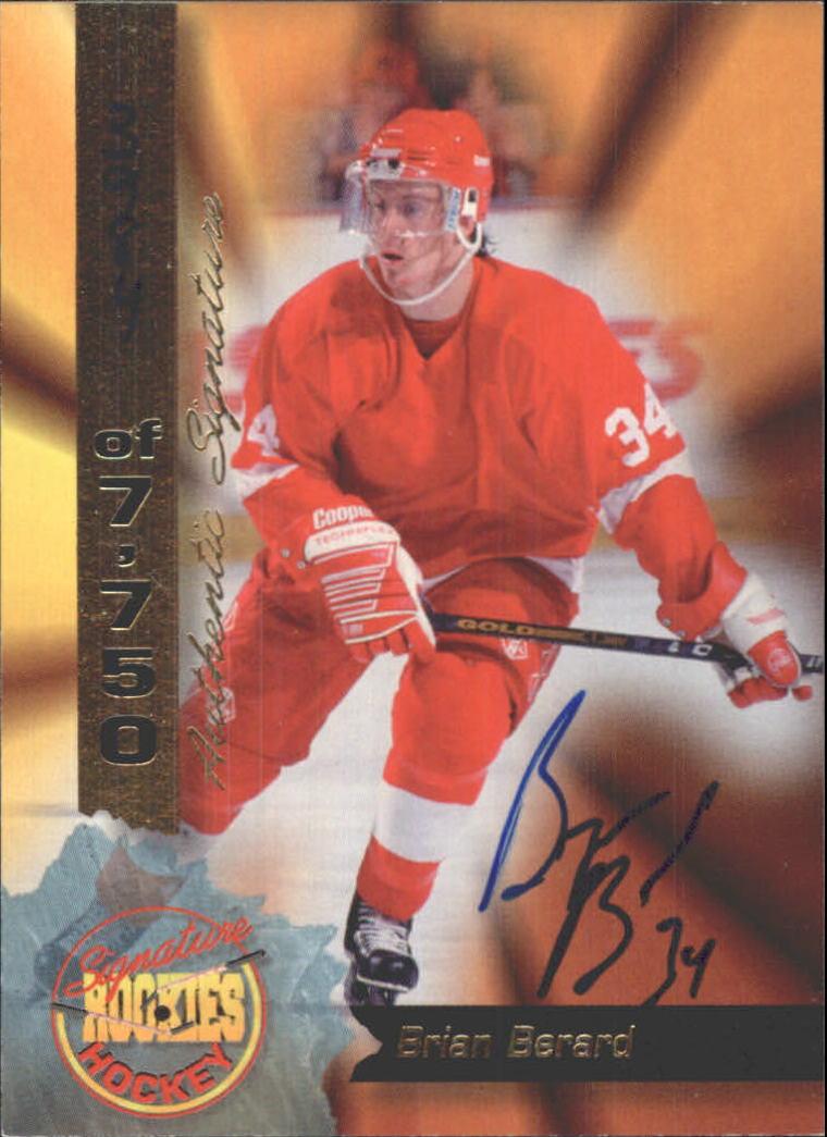 Chris Hynnes Hockey Card 1995 Signature Rookies Hockey Signatures #41 Chris Hynnes