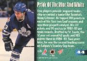 1995 Stadium Club Members Only 50 #44 Doug Gilmour back image