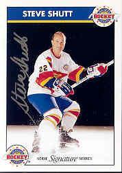 1995-96 Zeller's Masters of Hockey Signed #7 Steve Shutt