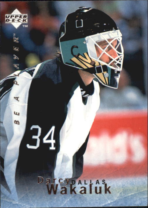 1995-96 Be A Player #90 Darcy Wakaluk