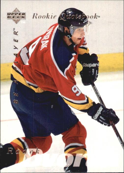 1995-96 Be A Player #163 Radek Dvorak RC