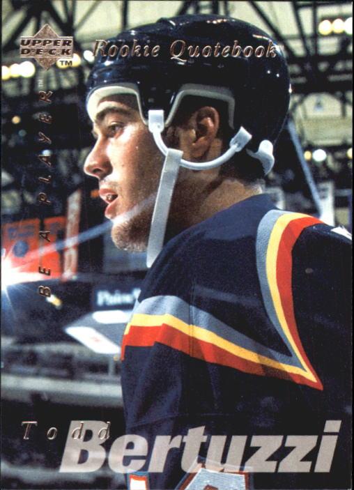 1995-96 Be A Player #168 Todd Bertuzzi RC