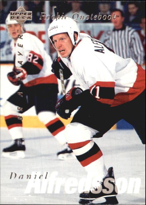 1995-96 Be A Player #171 Daniel Alfredsson RC