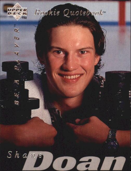 1995-96 Be A Player #172 Shane Doan RC