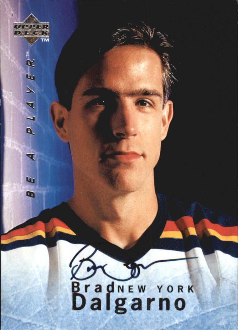 1995-96 Be A Player Autographs #S10 Brad Dalgarno