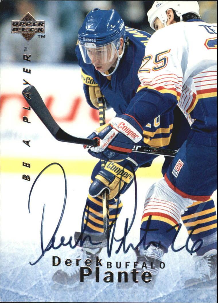 1995-96 Be A Player Autographs #S16 Derek Plante