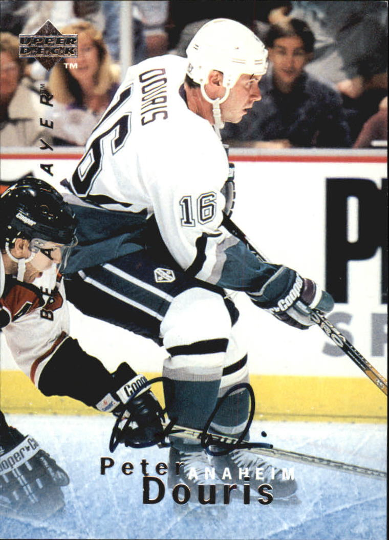 1995-96 Be A Player Autographs #S25 Peter Douris