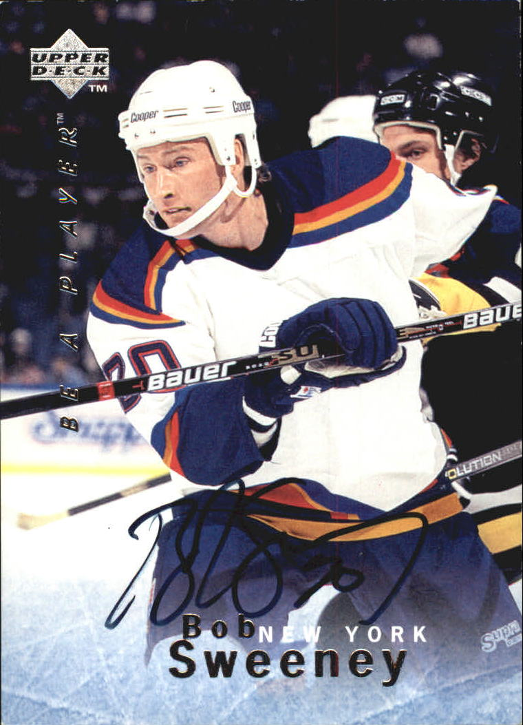 1995-96 Be A Player Autographs #S26 Bob Sweeney