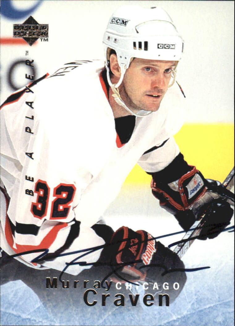 1995-96 Be A Player Autographs #S46 Murray Craven