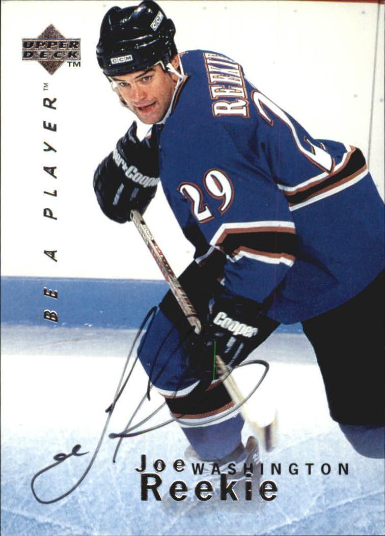 1995-96 Be A Player Autographs #S66 Joe Reekie