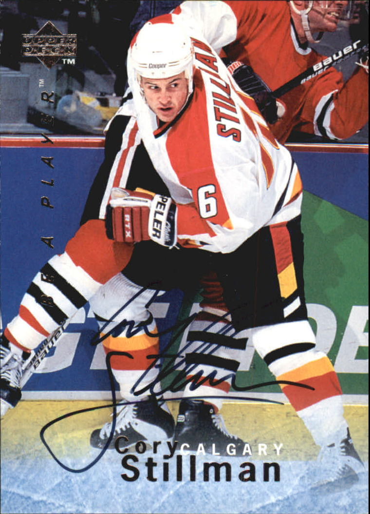 1995-96 Be A Player Autographs #S132 Cory Stillman