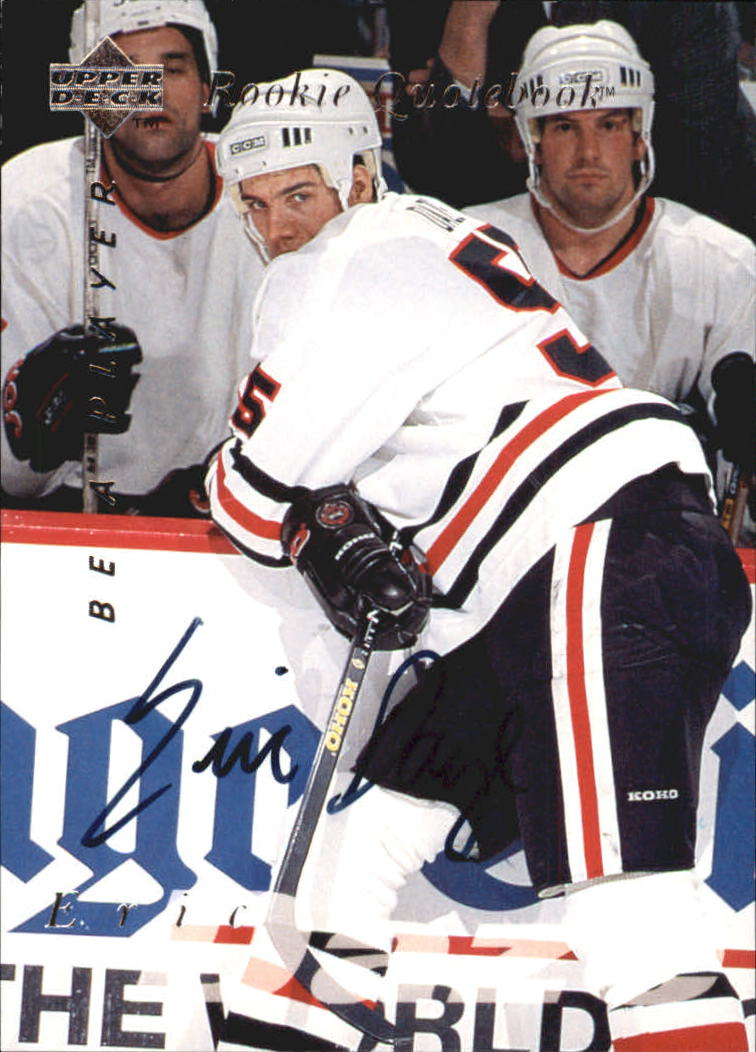 1995-96 Be A Player Autographs #S170 Eric Daze