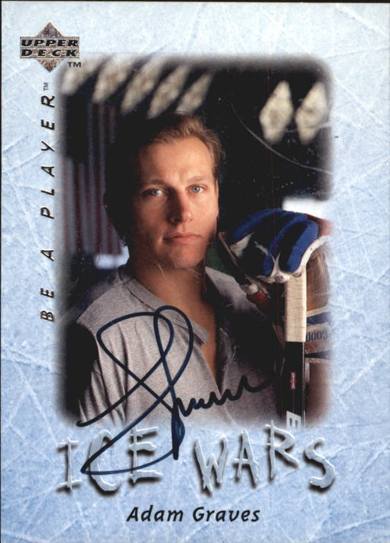 1995-96 Be A Player Autographs #S212 Adam Graves