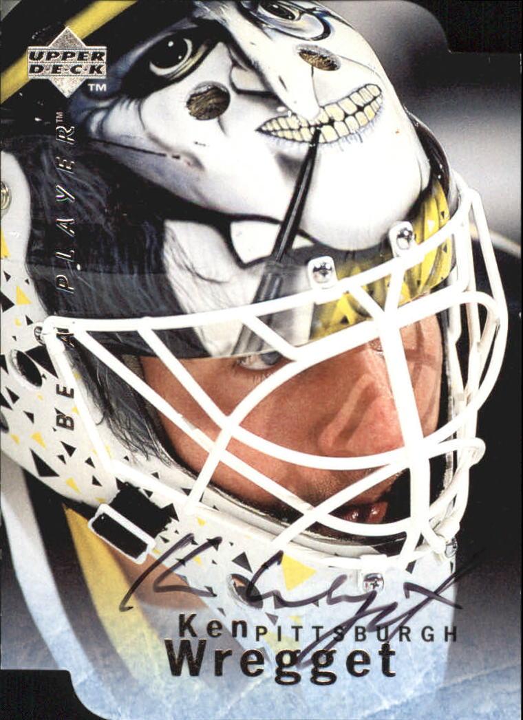 1995-96 Be A Player Autographs Die Cut #S67 Ken Wregget