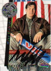 1995-96 Be A Player Autographs Die Cut #S191 Mike Richter MAIL-IN