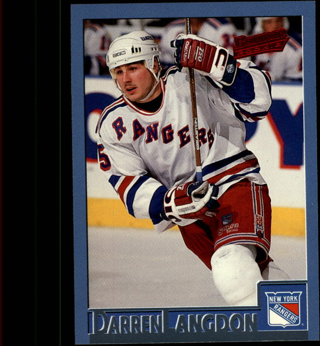 1995-96 Bowman #92 Darren Langdon RC