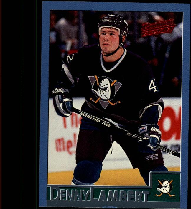 1995-96 Bowman #98 Denny Lambert RC