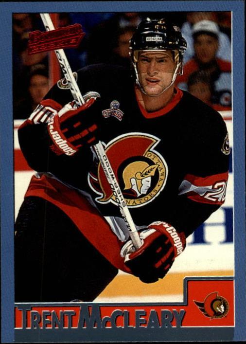 1995-96 Bowman #135 Trent McCleary RC
