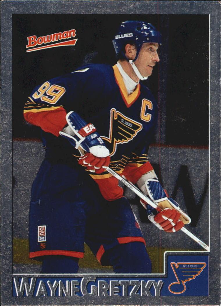 1995-96 Bowman Foil #1 Wayne Gretzky