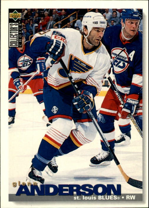 1995-96 Collector's Choice #46 Glenn Anderson