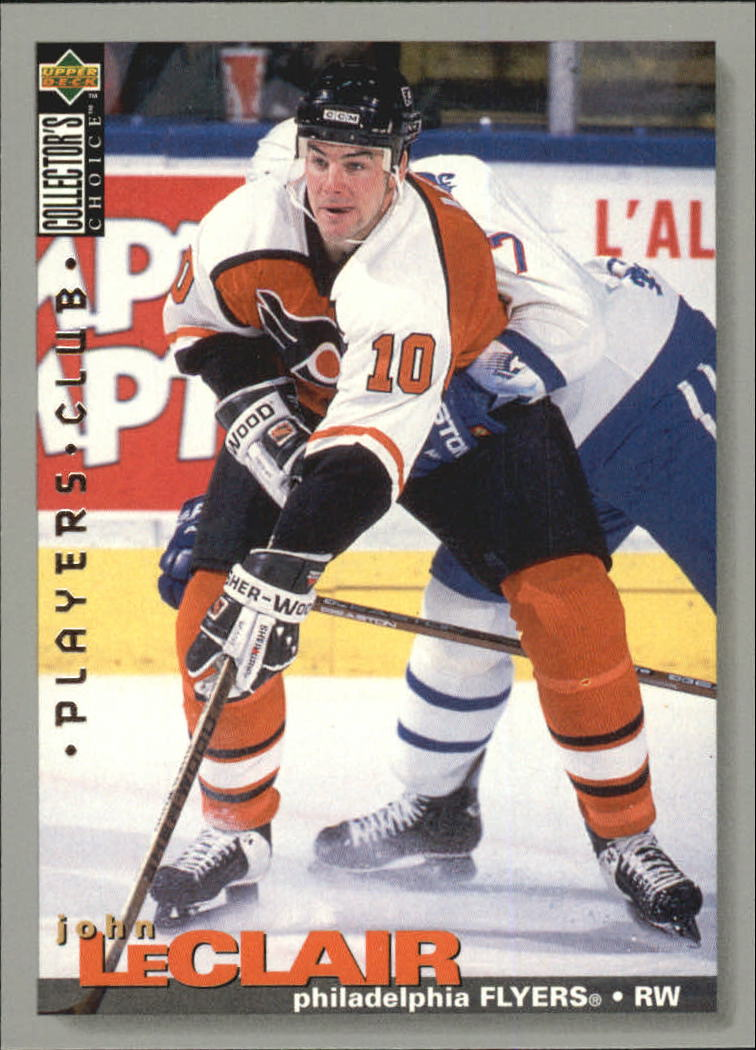 1995-96 Collector's Choice Player's Club #261 John LeClair