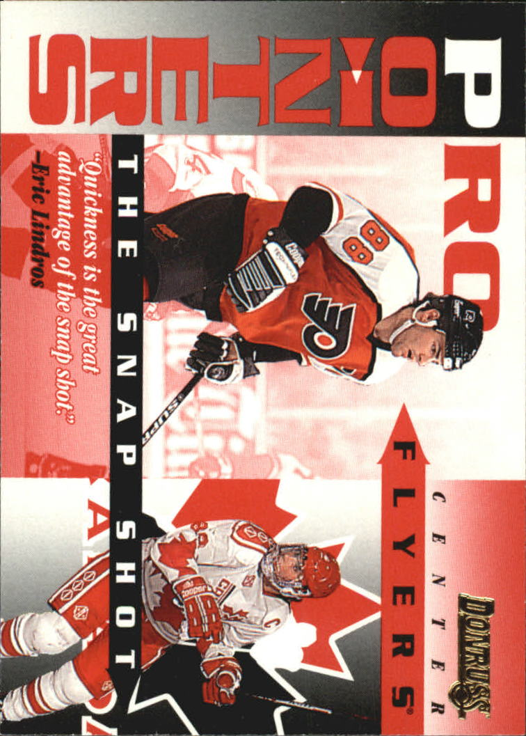 1995-96 Donruss Pro Pointers #13 Eric Lindros