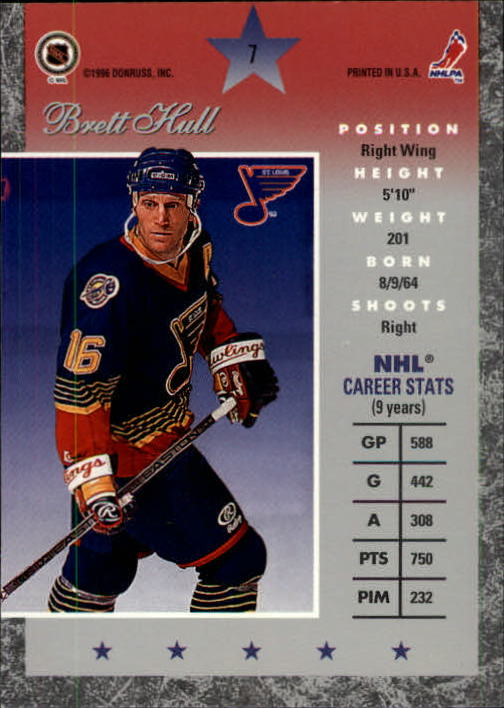 1995-96-Donruss-Elite-Hockey-Cards-Pick-From-List thumbnail 15