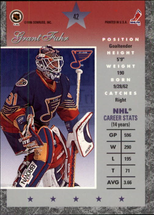 1995-96-Donruss-Elite-Hockey-Cards-Pick-From-List thumbnail 85