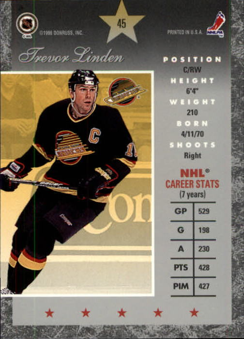 1995-96-Donruss-Elite-Hockey-Cards-Pick-From-List thumbnail 91