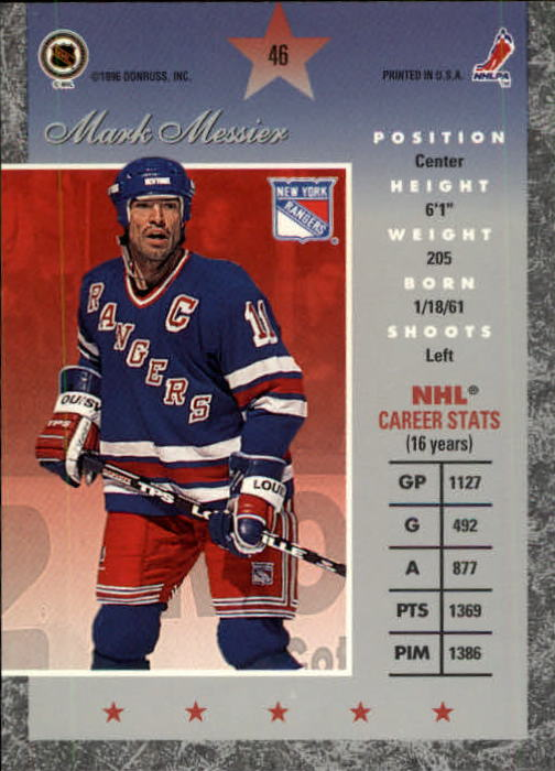 1995-96-Donruss-Elite-Hockey-Cards-Pick-From-List thumbnail 93
