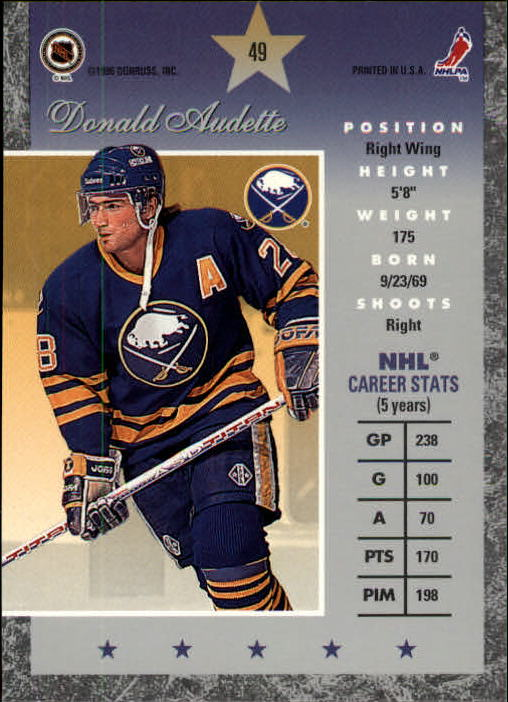 1995-96-Donruss-Elite-Hockey-Cards-Pick-From-List thumbnail 99
