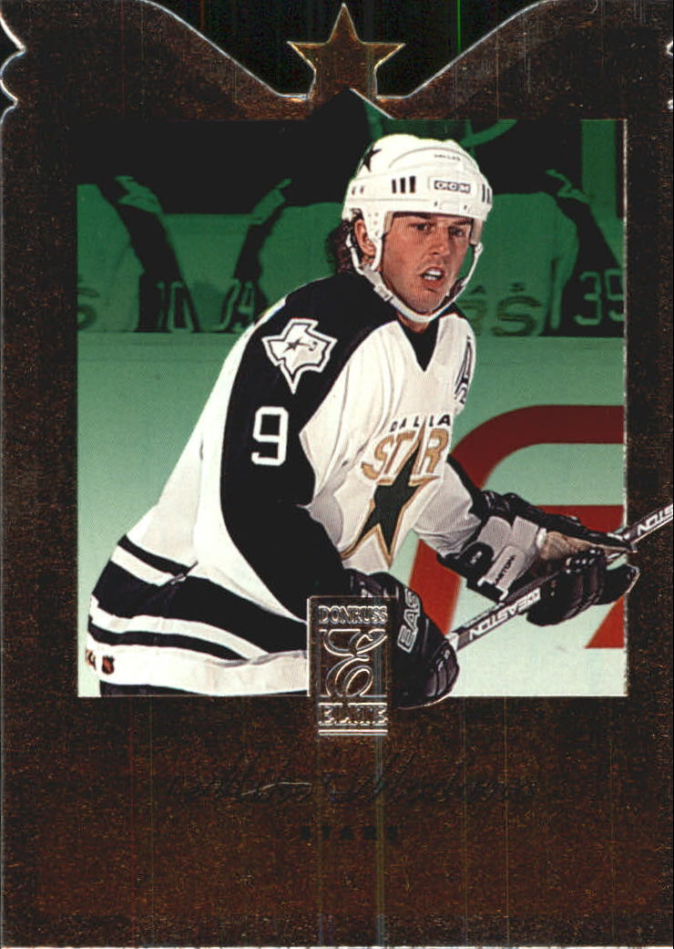 1995-96 Donruss Elite Die Cuts #32 Mike Modano