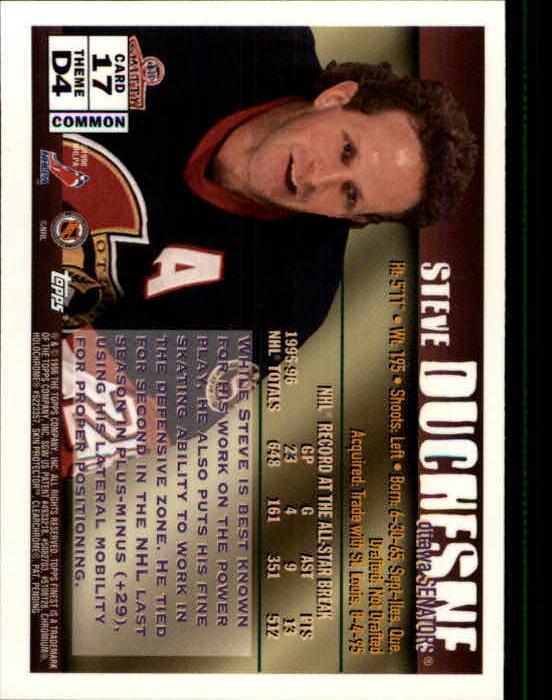 1995-96 Finest #17 Steve Duchesne B back image