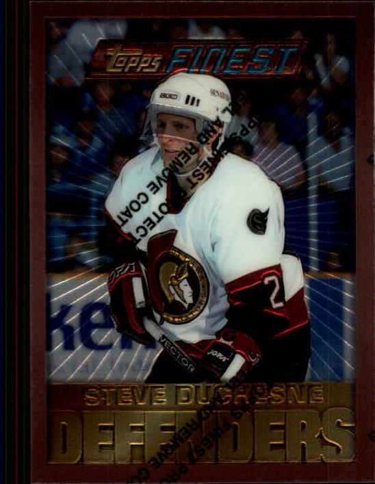 1995-96 Finest #17 Steve Duchesne B