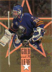 1995-96 Leaf Gold Stars #1 D.Hasek/J.Carey