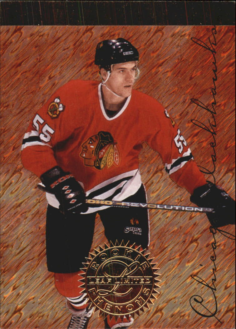 1995-96 Leaf Limited Rookie Phenoms #6 Eric Daze