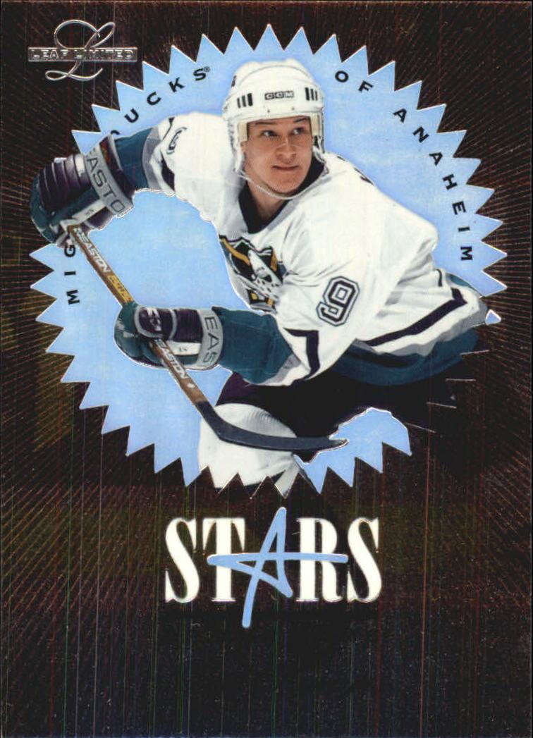 1995-96 Leaf Limited Stars of the Game #5 Paul Kariya