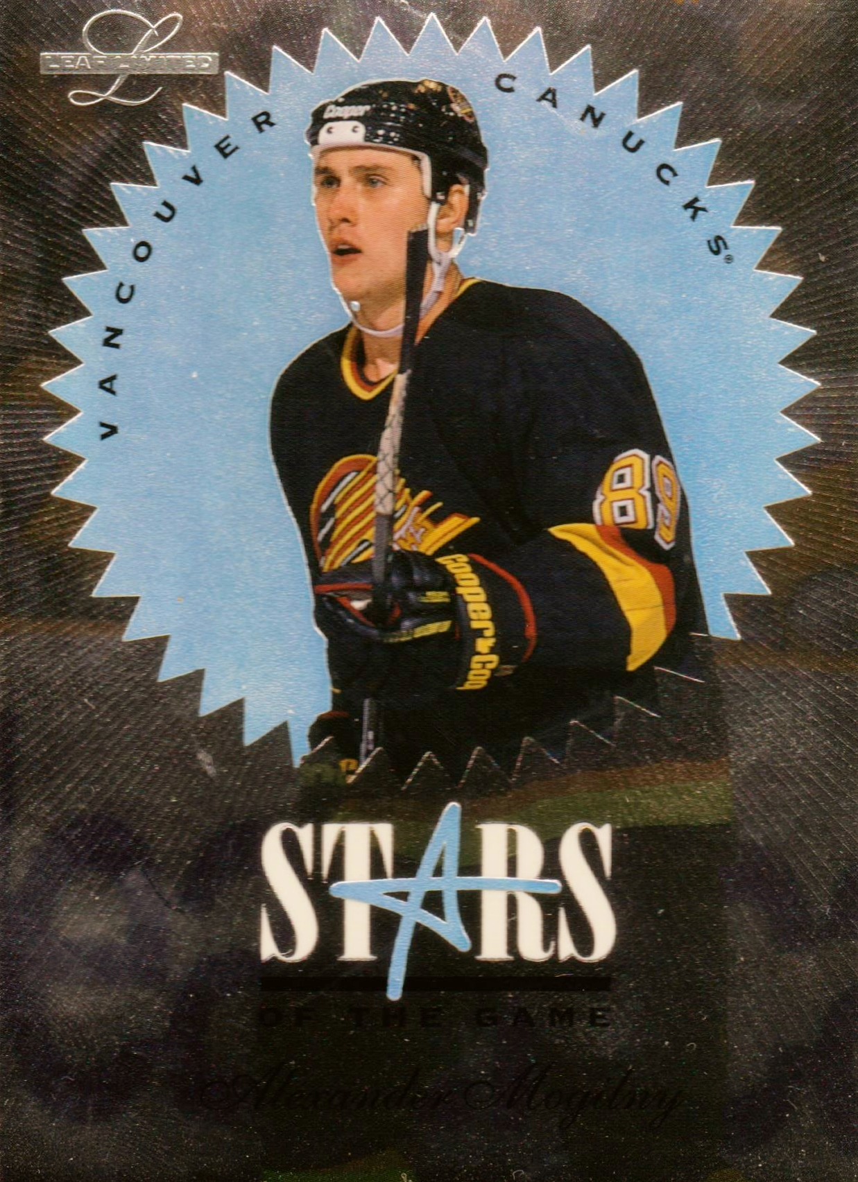 1995-96 Leaf Limited Stars of the Game #6 Alexander Mogilny