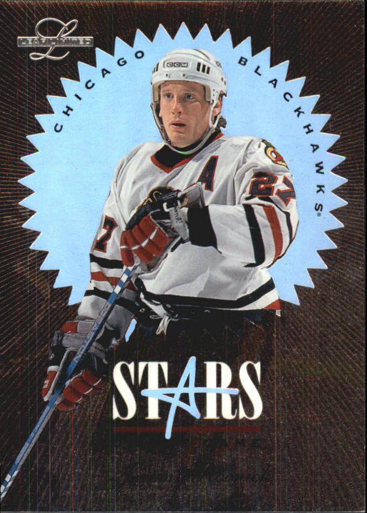 1995-96 Leaf Limited Stars of the Game #12 Jeremy Roenick