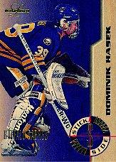 1995-96 Leaf Limited Stick Side #5 Dominik Hasek