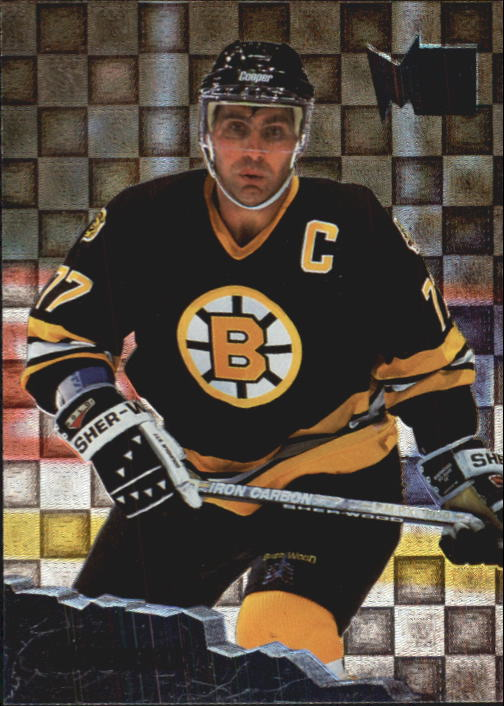 1995-96 Metal #6 Ray Bourque