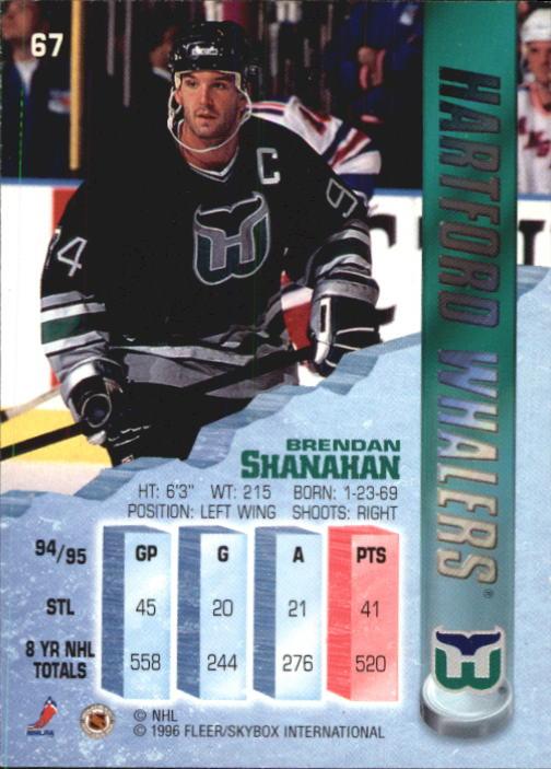 1995-96 Metal #67 Brendan Shanahan back image