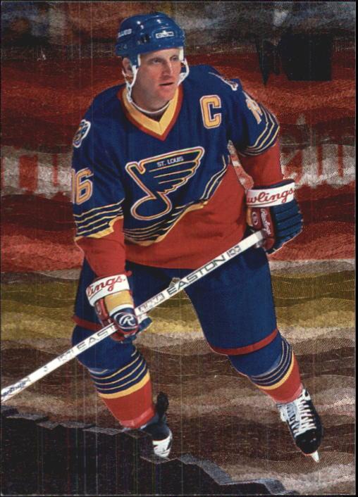 1995-96 Metal #125 Brett Hull