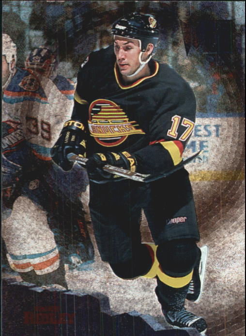 1995-96 Metal #155 Mike Ridley