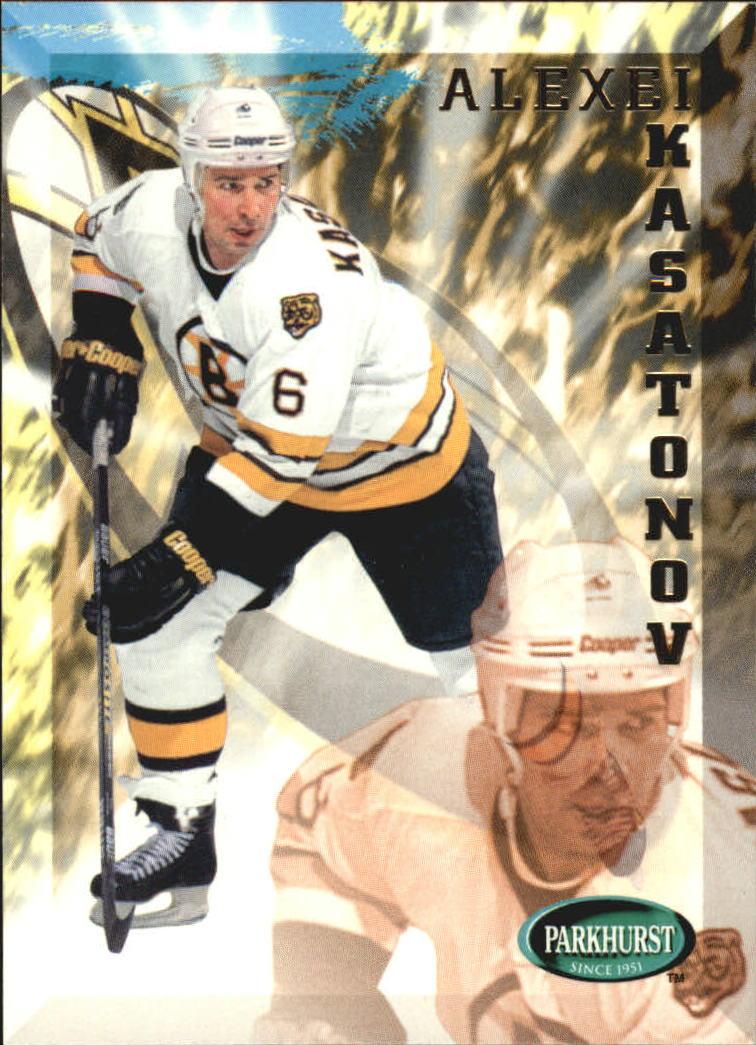 1995-96 Parkhurst International #15 Alexei Kasatonov