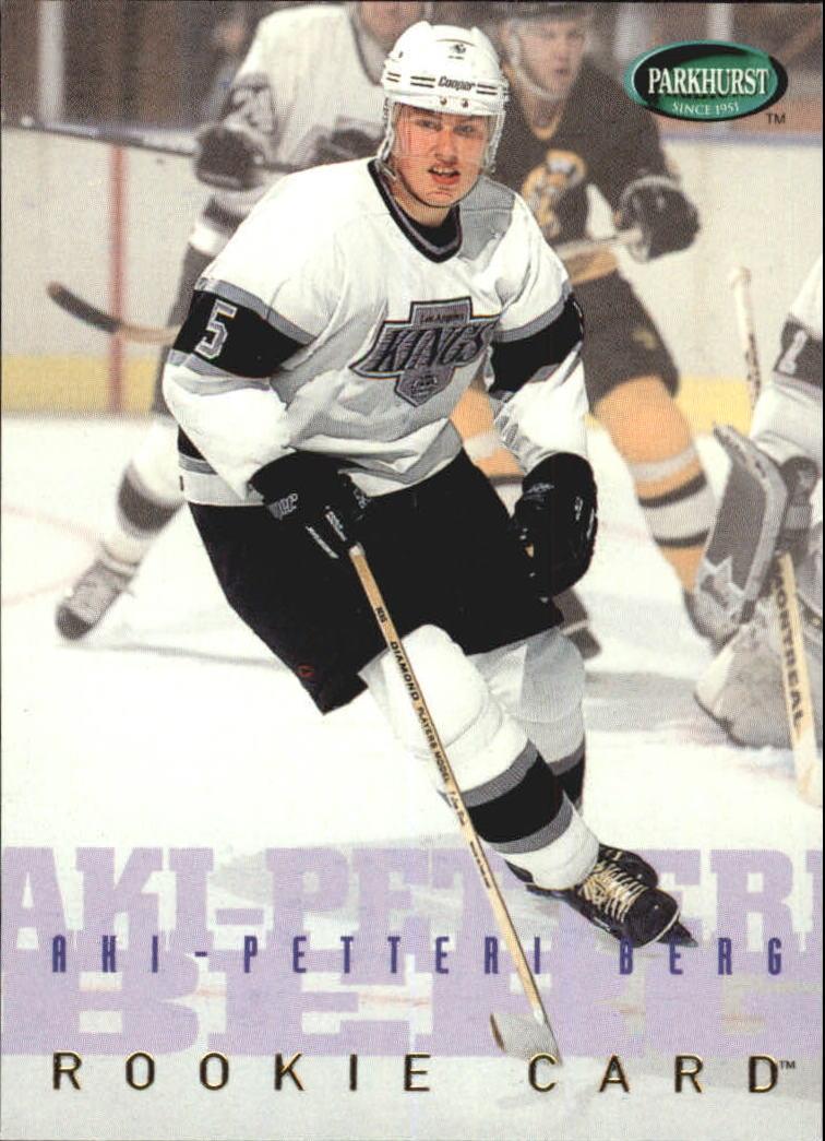 1995-96 Parkhurst International #253 Aki Berg